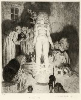 The Little Witch by NORMAN LINDSAY