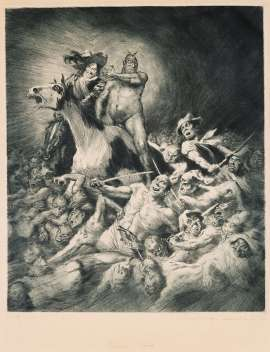 Powers of Earth by NORMAN LINDSAY