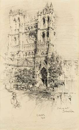 Amiens Cathedral by LLOYD REES