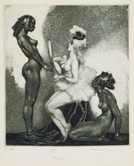 Toilet by NORMAN LINDSAY