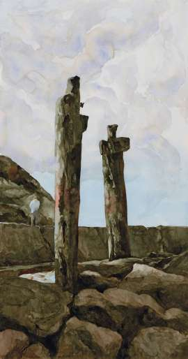 Pier Remnants by RICK AMOR
