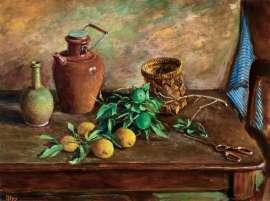 Branch of Lemons by MARGARET OLLEY