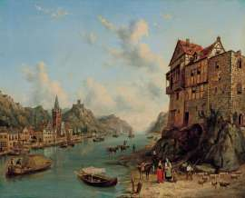 On the Rhine by HENRY GRITTEN