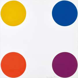 Norleucine (from 12 Woodcut Spots) by DAMIEN HIRST