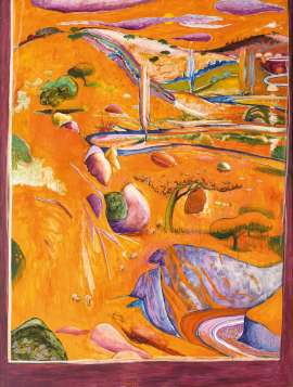 The Paddock - Late Afternoon by BRETT WHITELEY