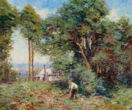 Spring Morning by FREDERICK McCUBBIN