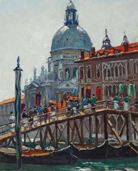 Grand Canal, Venice by WILL ASHTON