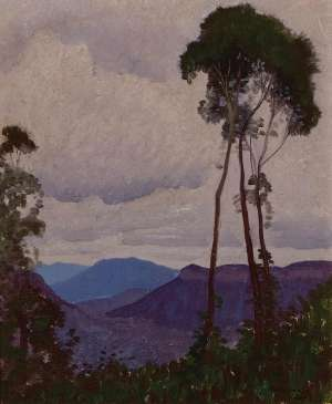 Blue Mountains by ELIOTH GRUNER