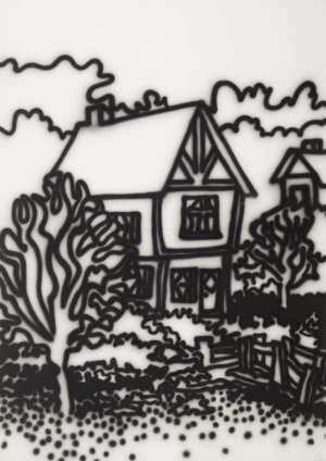 Tudor House, Fitzroy Gardens by HOWARD ARKLEY