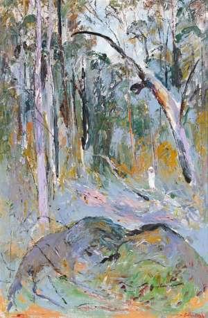 Figure in the Bush II by ARTHUR BOYD