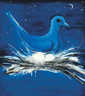 The Dove and the Moon by BRETT WHITELEY