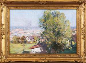 Richmond from Fairlie House by ARTHUR STREETON