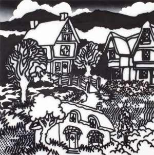 Model Tudor Village, Fitzroy Gardens by HOWARD ARKLEY