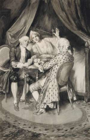 The Game by NORMAN LINDSAY