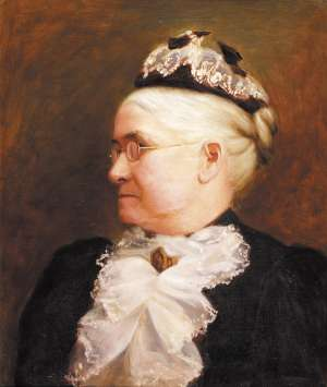 Portrait of Mrs Cakebread, the Artist's Grandmother-in-Law - TOM ROBERTS