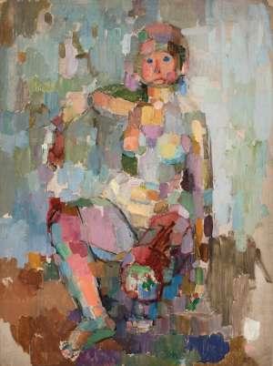 Nude by JOHN PASSMORE