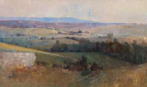 Study for Still Glides the Stream by ARTHUR STREETON