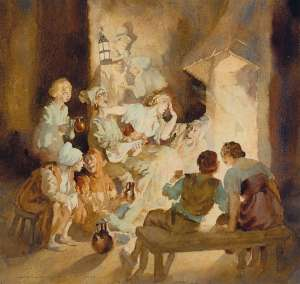 Thieves' Kitchen by NORMAN LINDSAY