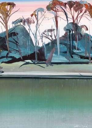 Dusk at Shoalhaven by ARTHUR BOYD