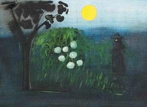 Moonrise by CHARLES BLACKMAN