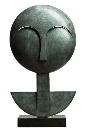 Mask A by JOEL ELENBERG