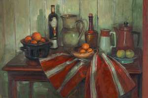 Kitchen Table by MARGARET OLLEY
