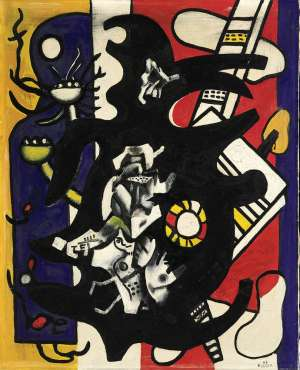 China Town - FERNAND LEGER