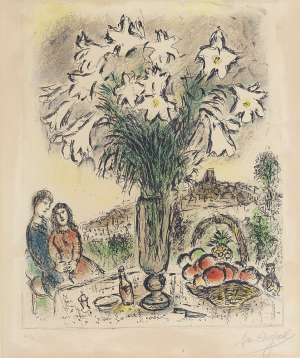 Les Arums - MARC CHAGALL