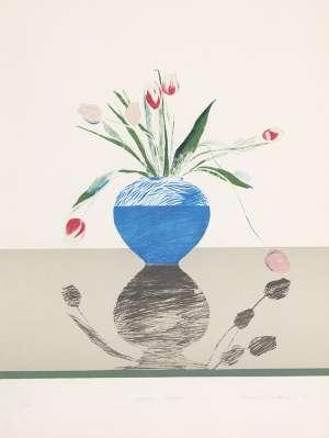 Pretty Tulips - DAVID HOCKNEY
