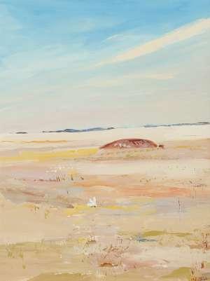 Landscape with White Bird by ARTHUR BOYD