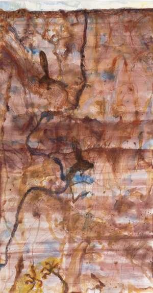 Desert Landscape and Marsupial Mice by JOHN OLSEN