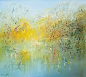 The River at Warrandyte by DAVID BOYD