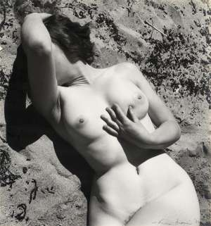 Nude and Beach (Nude in Sand) by MAX DUPAIN