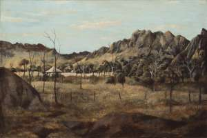 Chillagoe Bluffs by RAY CROOKE