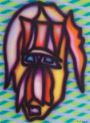 Untitled (Head) by HOWARD ARKLEY