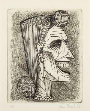 Head of a Woman by JOHN BRACK