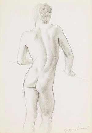 Untitled (Nude) by JEFFREY SMART