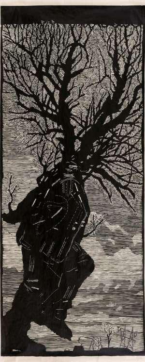 Man Turning into a Tree by WILLIAM KENTRIDGE