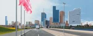Batman Avenue, Melbourne by RICHARD MAUROVIC