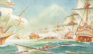 The Sea Battle by ARTHUR GREGORY