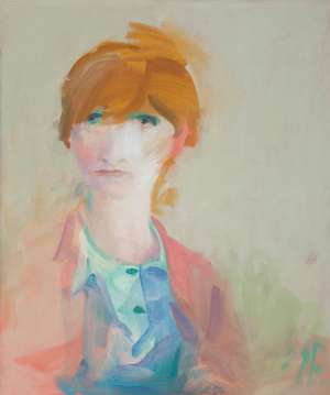 Untitled (Portrait of a Girl) by SAM FULLBROOK