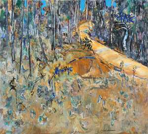 Bush Road with Cootamundras by FRED WILLIAMS