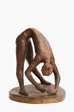 Ballet Dancer Bending by GUY BOYD
