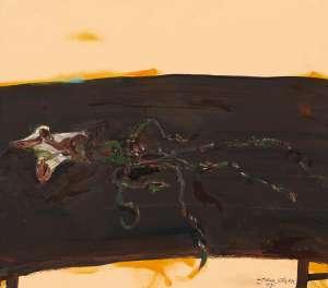 The Squid at Sunset by JOHN OLSEN