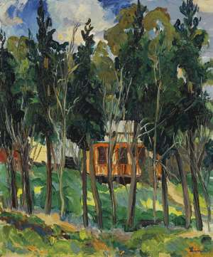 The House in the Trees by LINA BRYANS