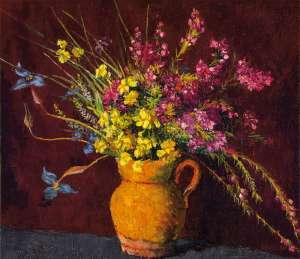 Mixed Flowers by VIDA LAHEY