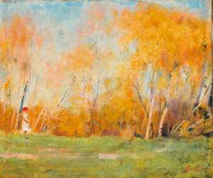 Autumn Day by ARTHUR STREETON