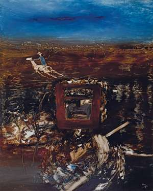 Kelly by SIDNEY NOLAN