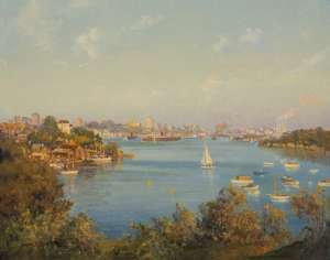 Mosman Bay by JOHN ALLCOT