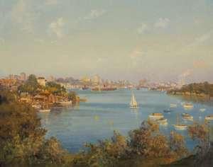 Mosman Bay by JOHN ALLCOT